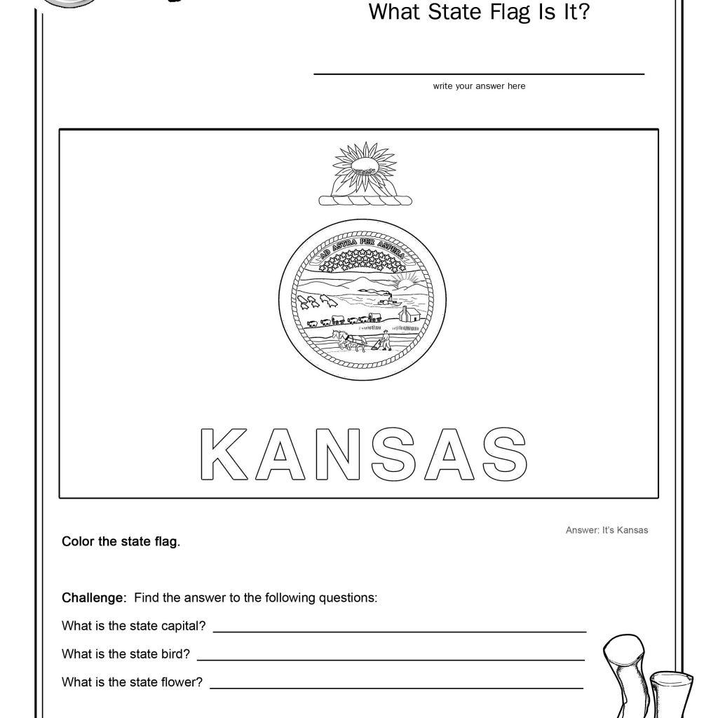 Oregon state flag coloring pages