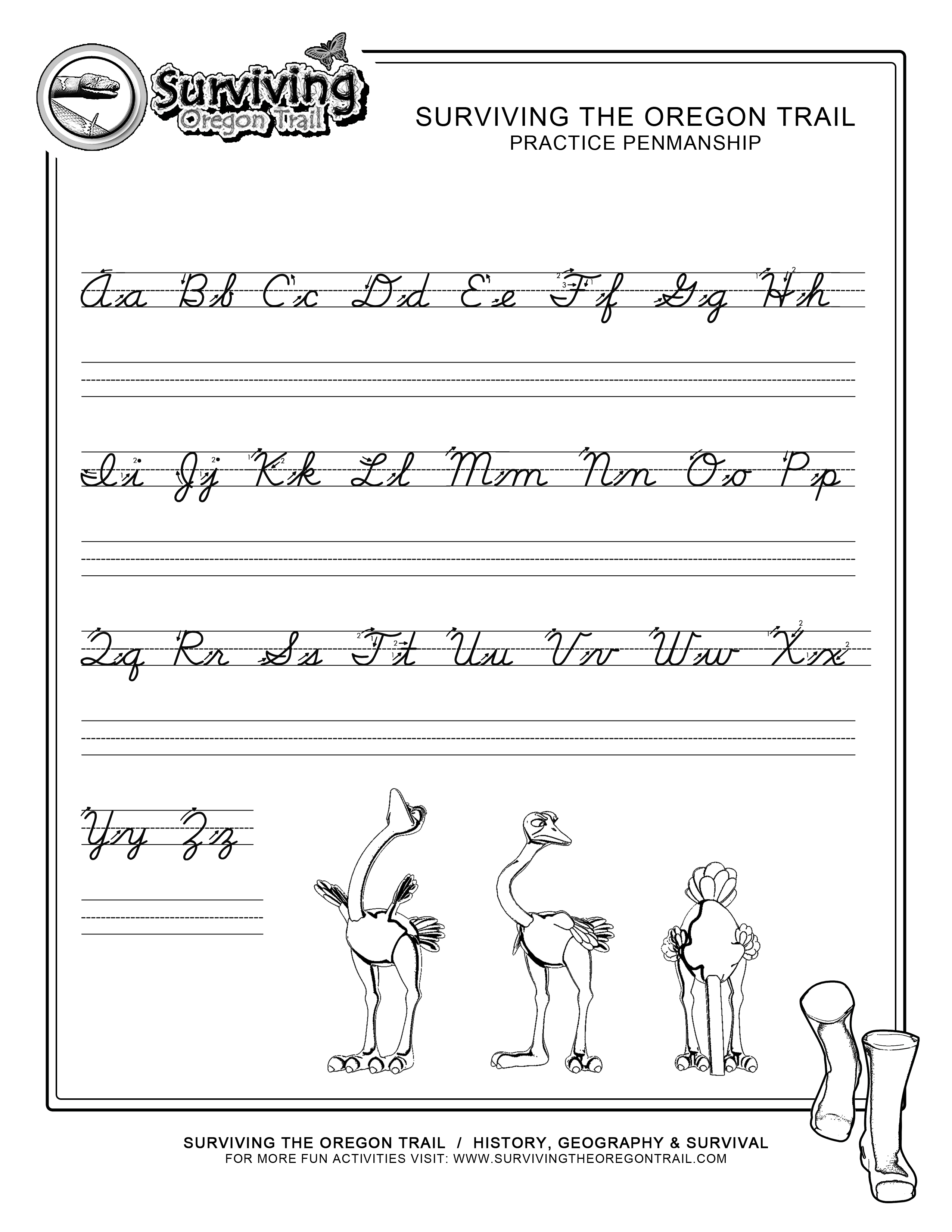 Worksheets How To Write In Cursive Worksheets practice penmanship free abcs printable cursive writing worksheet large print